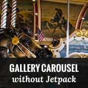How to Add a Beautiful Gallery Carousel in WordPress without Jetpack
