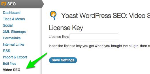 Yoast Video SEO plugin License Key