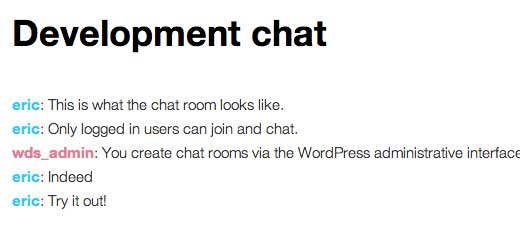 Chat Room Front-End