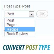 How To Switch/Convert Custom Post Types in WordPress