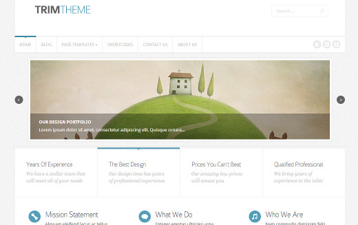 Trim by Elegant Themes