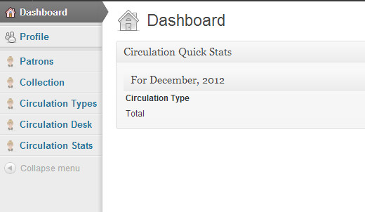 Web Librarian Admin Dashboard