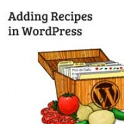 Recipes in WordPress