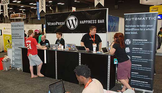 SXSW WordPress Booth