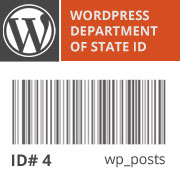 WordPress IDs