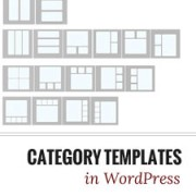to create category templates in wordpress