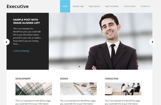 Executive Theme by StudioPress