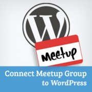 How to Connect Meetup.com Group to WordPress