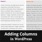 How to Create Columns in WordPress using WP Advanced Columns