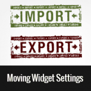 How to Import/Export Widget Settings in WordPress