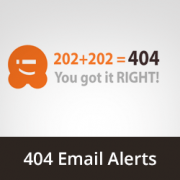 How to Get Email Alerts for 404 Errors in WordPress