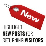 Highlight New Posts for Returning Visitors