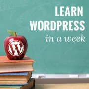 Learn WordPress for Free in a Week
