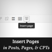 How to Insert WordPress Page Content to Another Page or Post