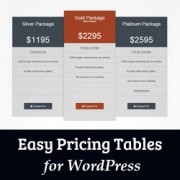 How to Add Beautiful Pricing Tables in WordPress (No Coding Required)