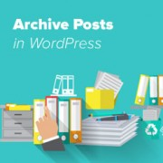 Archive Old Posts in WordPress