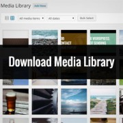 How to Quickly Download Your Entire WordPress Media Library
