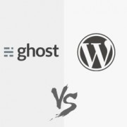 WordPress vs Ghost - ¿Cuál es mejor?