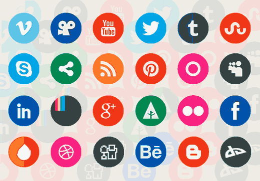Retina Ready Flat Icons Set