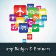 How to Add Beautiful Mobile App Badges in WordPress