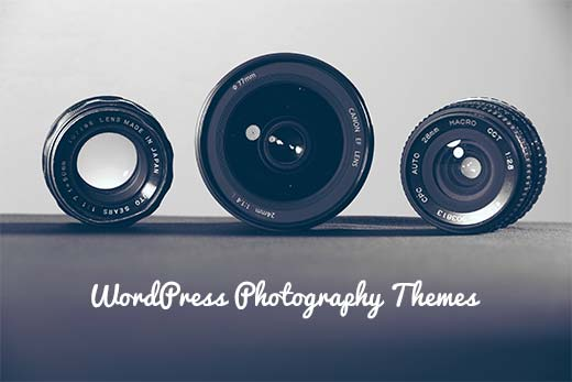 Finding the best free WordPress photography themes