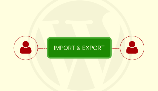 Import & Export WordPress Users