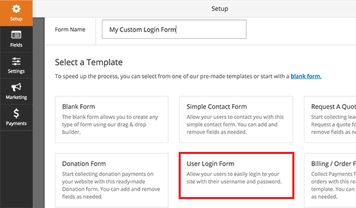 New Customer Account Setup Form Template How To Create A Custom Login Page For Wordpress