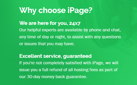 iPage hosting review - why choose iPage