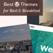 24 Mejores temas de WordPress para bed and breakfast