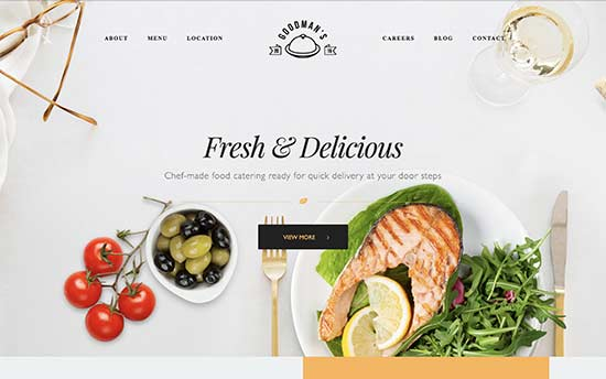 22 best wordpress themes for recipe and food blogs 2018 gourmet is a powerful wordpress theme for food blogs recipes and restaurant websites it is part of a larger pack of 23 ready made websites that can be forumfinder Images
