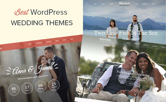 Best wedding themes for WordPress