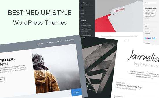Best Medium style WordPress themes