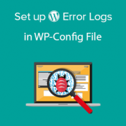 How to Set Up WordPress Error Logs in WP-Config