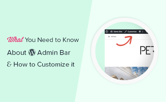 What you need to know about WordPress admin bar