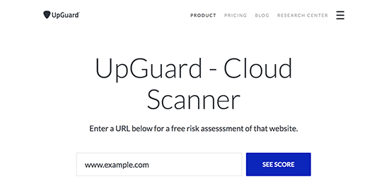 UpGuard Cloud Scanner