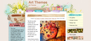 arty theme