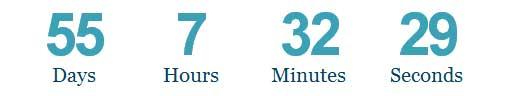 WordPress Countdown Screenshot