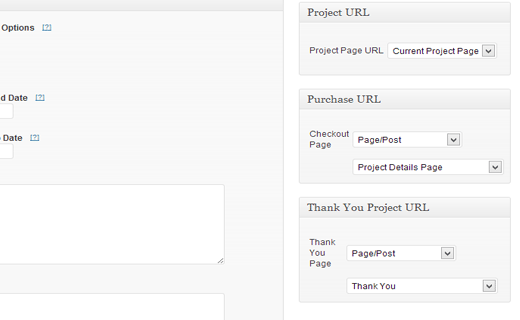 Adding purchase and thank you pages for crowdfunding project in WordPress