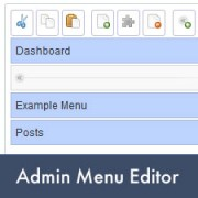 How to Add, Edit, Re-order or Hide WordPress Admin Menus