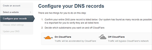 Configure your DNS Records