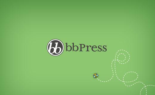bbPress the best WordPress forum plugin