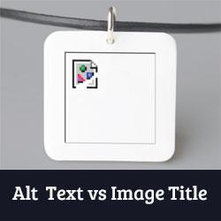 html img alt title