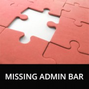 How to Fix Missing Admin Bar Issue in WordPress