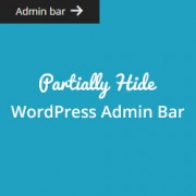 How to Partially Hide Admin Bar in WordPress
