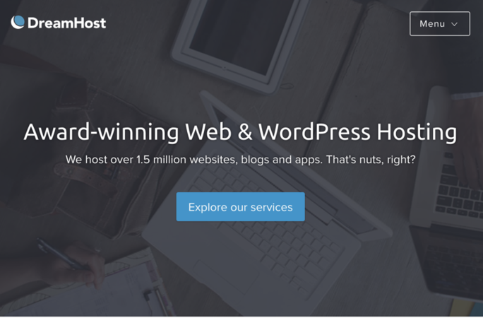 DreamHost offers award-winning WordPress hosting
