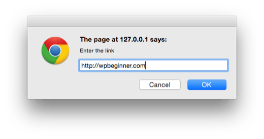 wordpress-tinymce-plugin-prompt-url