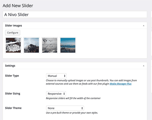 Creating a WordPress Slider using Nivo Slider plugin