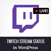 How to Display Twitch Stream Status in WordPress