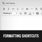 How to Disable Visual Editor Formatting Shortcuts in WordPress 4.3
