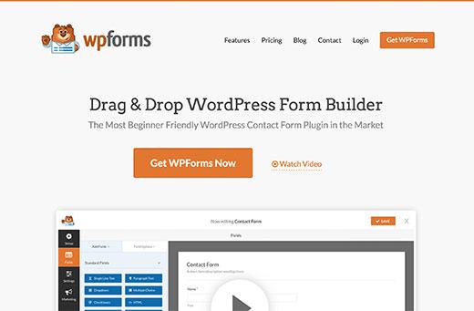 Get WPForms Now
